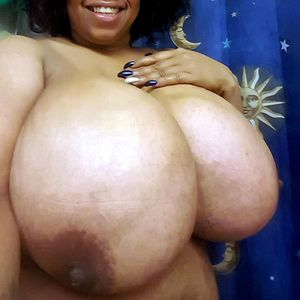 Exclusive black wife with enormous..