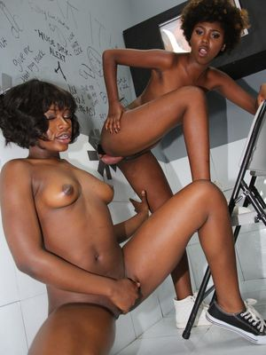 Black whores Daizy Cooper and Noemie..