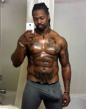 Hot self-shot pictures from black hunks