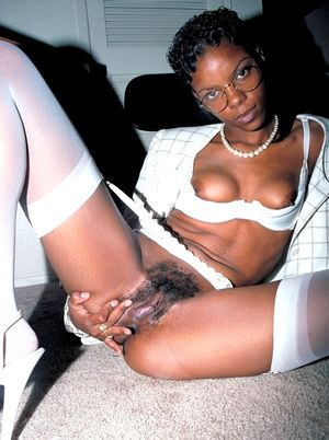 Photo selection of a sexy ebony party..