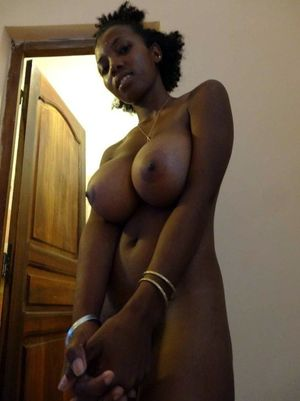 Young ebony teacher shows her..
