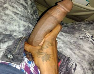 Black amateur boys exposing big erect..